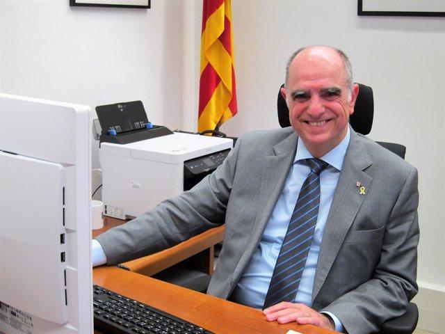 El secretario de Universidades Francesc Xavier Grau