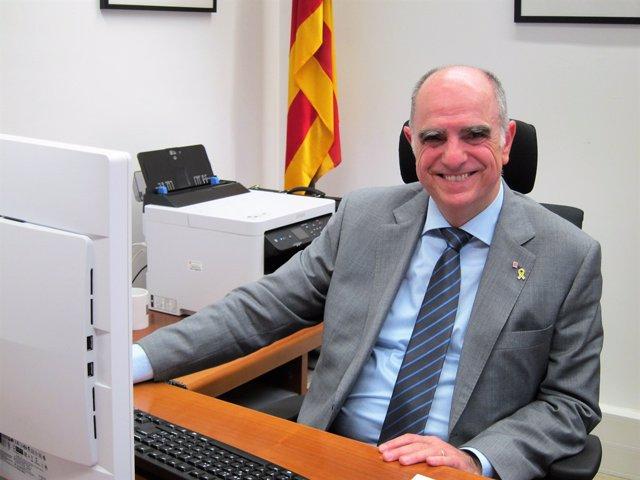 El secretari d'Universitats Francesc Xavier Grau