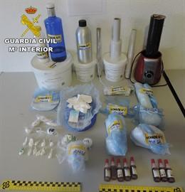 Operación Samuco contra el tráfico de drogas en Valdepeñas