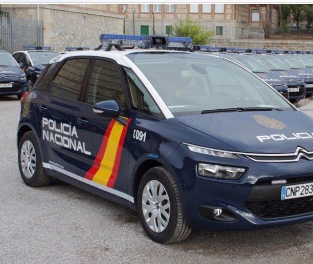 Recurso de coche de Policía Nacional