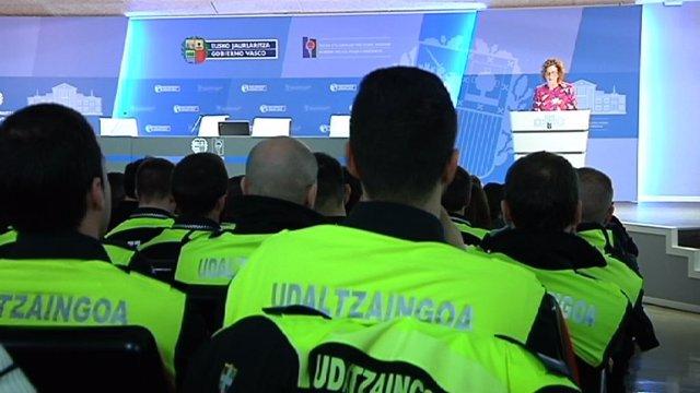 Inicio del proceso de formación de policías locales