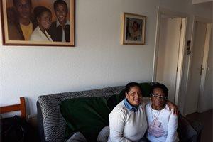 Fanny, una colombiana a la que desahució la guerrilla primero y el banco después