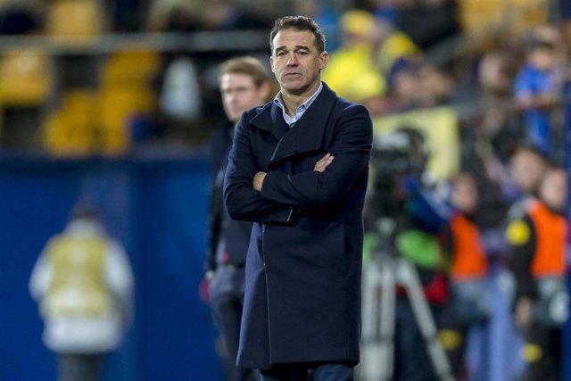 Luis García Plaza, entrenador del Villarreal