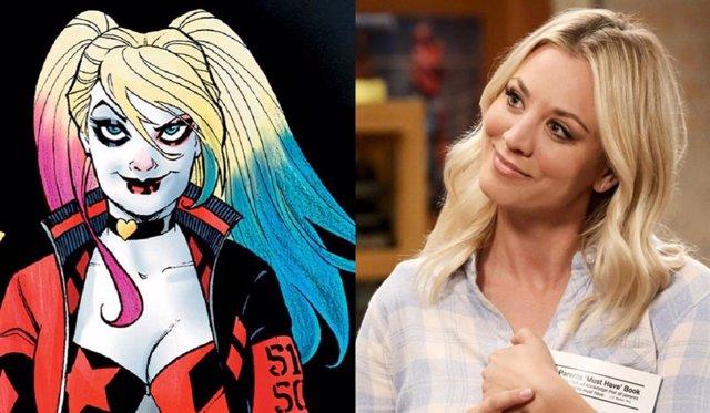 Kaley Cuoco pone voz a Harley Quinn