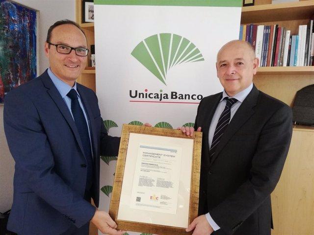 Unicaja Banco Gestión Ambiental