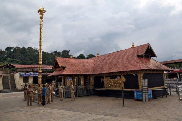 Templo hindú de Sabarimala, en Kerala