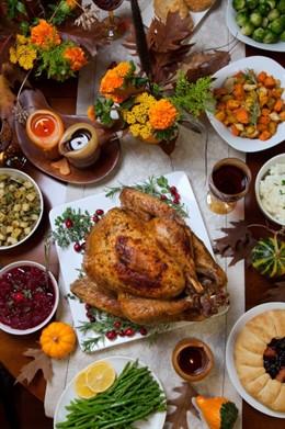 Comida, comilona, navidad