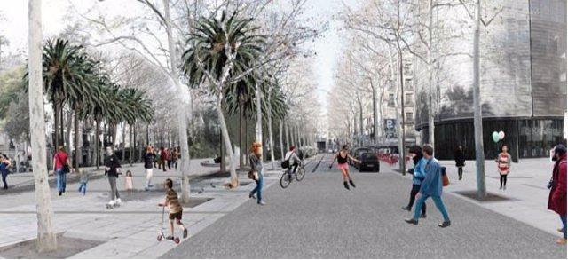 Proyecto de reurbanización de la rambla del Raval