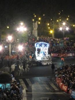 Cabalgata Reyes Magos Oviedo 2014