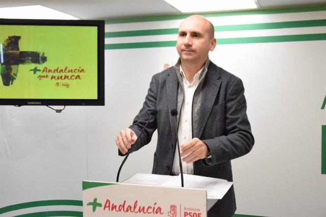 Francisco Conejo en rueda de prensa