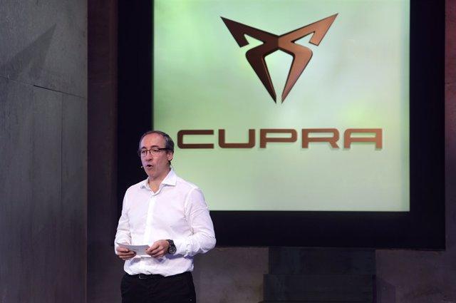 Mikel Palomera, director general de Seat y Cupra en España