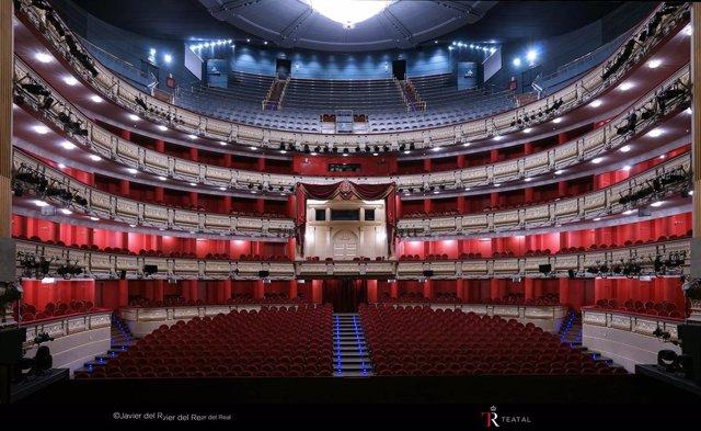 Patio de butacas del Teatro Real