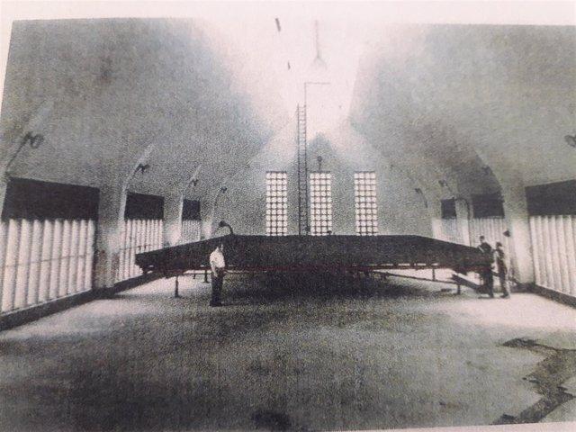 Antiguas instalaciones del edificio Palomar