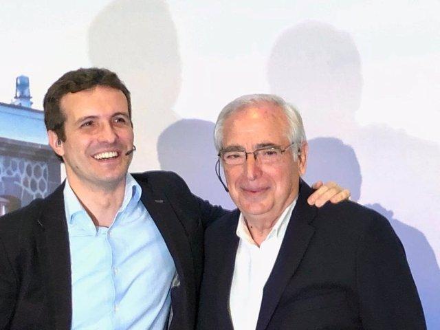 Pablo Casado y Juan José Imbroda