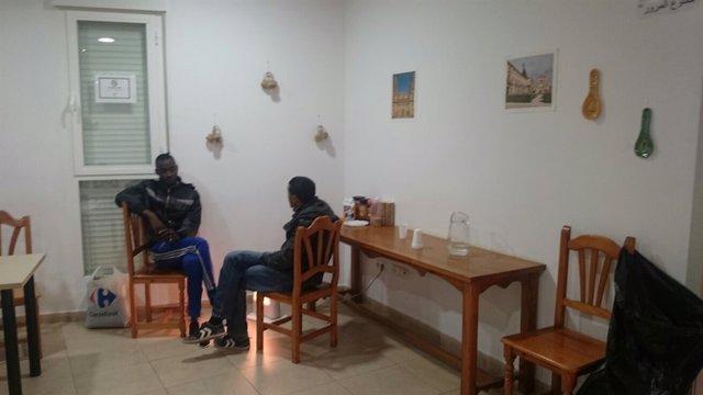 Interior albergue de Torredonjimeno (Archivo)