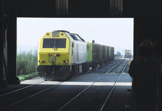 Transporte de residuos por tren a cargo de Sogama