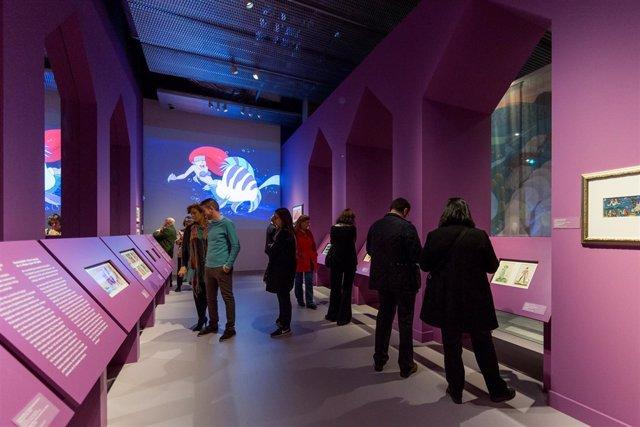 La exposición sobre 'Disney' en CaixaForum Sevilla