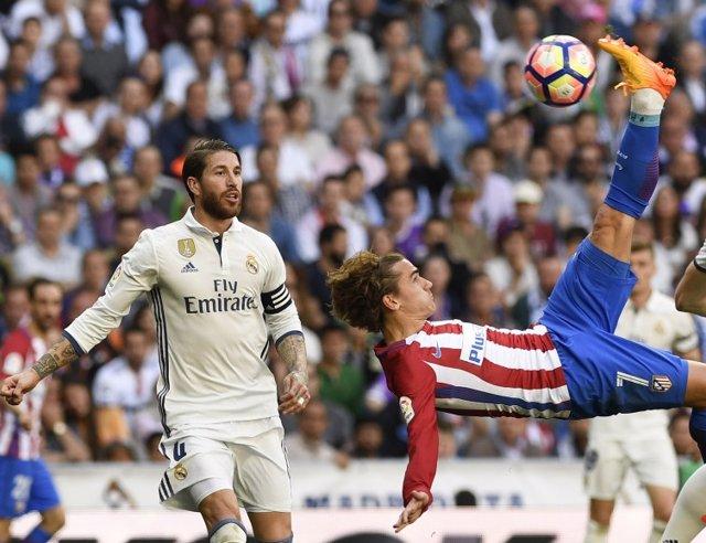 Antoine Griezmann Atlético Real Madrid