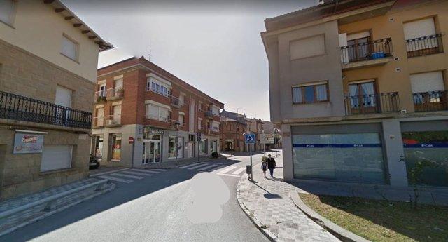 Una calle de Tona (Barcelona)