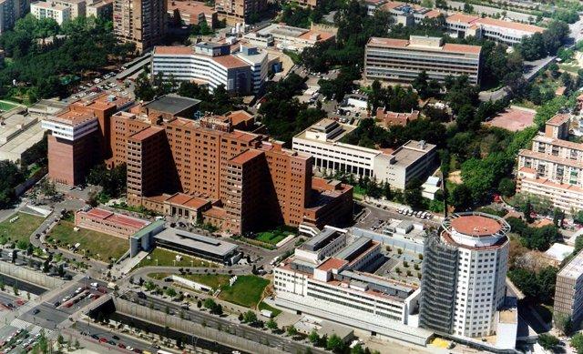 L'Hospital Vall d'Hebron de Barcelona