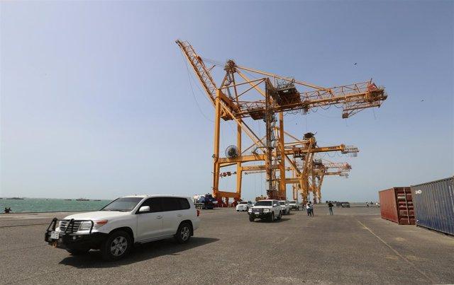 Convoy de la ONU en Hodeida