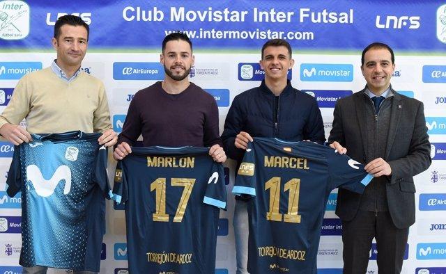 Marlon y Marcel, nuevos fichajes de Movistar Inter