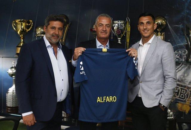 El nuevo entrenador de Boca Juniors, el argentino Gustavo Alfaro