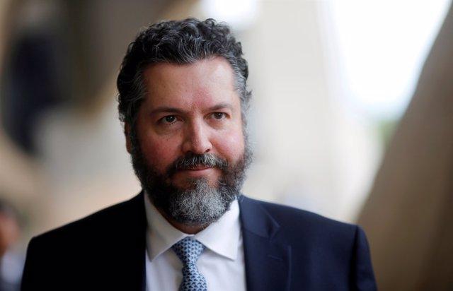 El ministro de Exteriores de Brasil, Ernesto Araújo