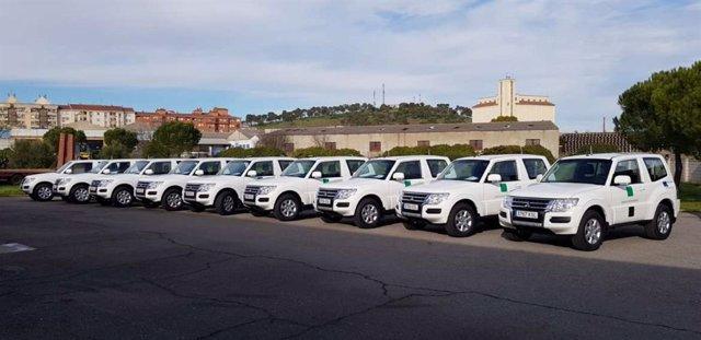 Nuevos vehículos del Plan Infoex en Extremadura