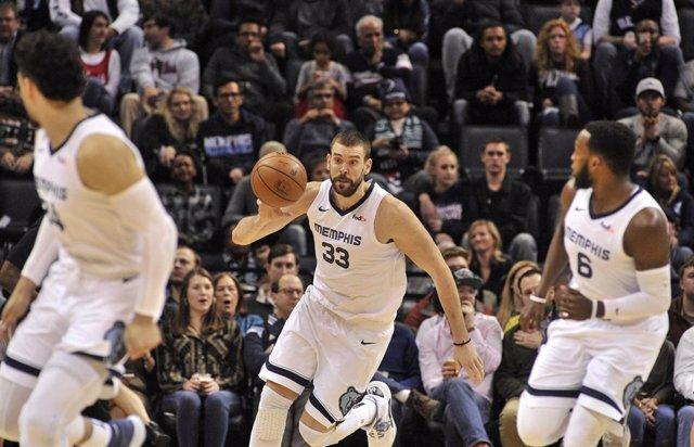 Memphis Grizzlies Marc Gasol