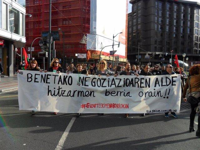 2º Día Huelga Enseñanza Concertada Euskadi.