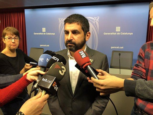 El conseller de Trabajo Chakir el Homrani