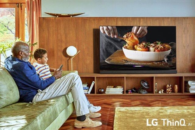 Presentación nueva gama de televisores LG