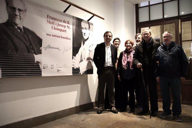 Exposició 'Francesc de B. Moll i Josep M. Llompart. Una amistat fructífera'
