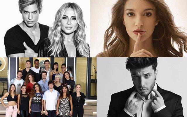 Artistas que actuarán en los Premios Forqué en Zaragoza