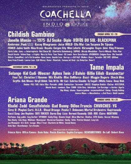 Rosalía, J Balvin y Bad Bunny, en el Coachella más latino, que tendrá también el k-pop de Blackpink