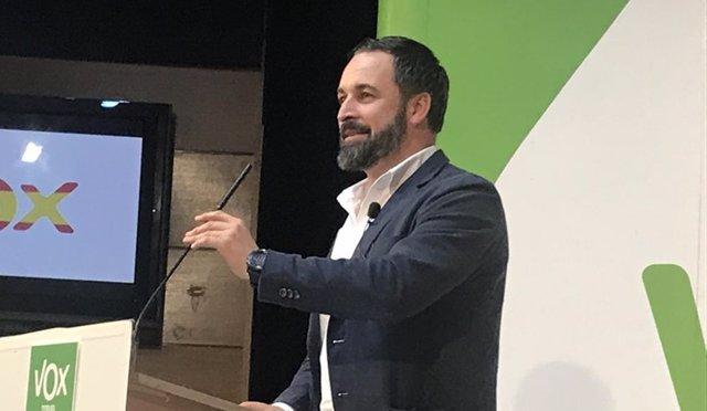 Acto de Vox en Teruel