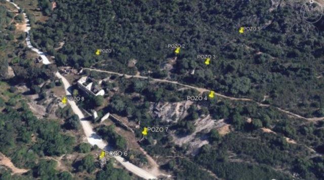 """Situación de los pozos mineros """"peligrosos"""" en la Montaña de Cáceres"""