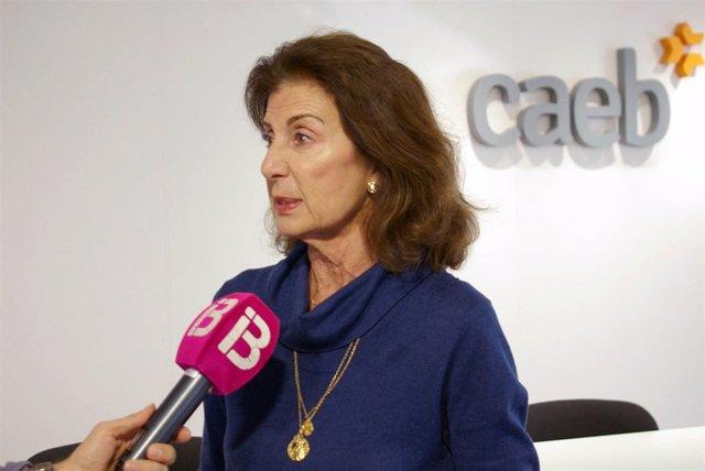 Presidenta de la CAEB, Carmen Planas