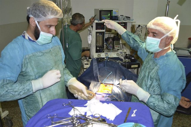 Médicos en Idlib
