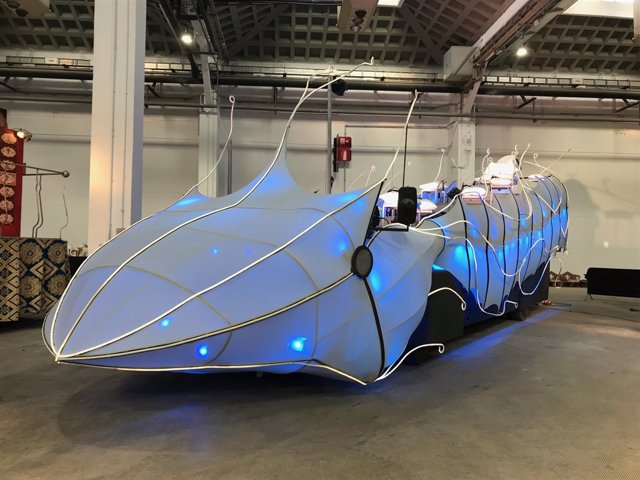 La nueva carroza del rey Gaspar