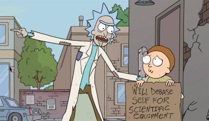 Nuevo y psicodélico vídeo de Rick y Morty: ¿Se acerca el estreno de la 4ª temporada?