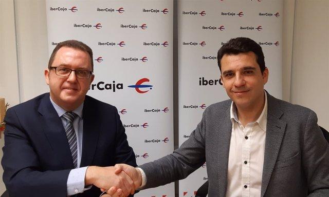 Beamonte y Cenarro han suscrito hoy este acuerdo en Teruel