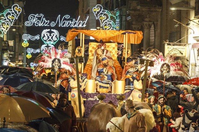 Cabalgata De Reyes Magos 2018 En Guadalajara, Baltasar