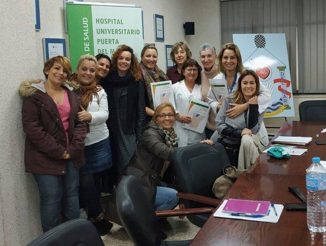 Nota De Prensa: El Puerta Del Mar Incorpora Una Escuela De Pacientes De Cáncer D