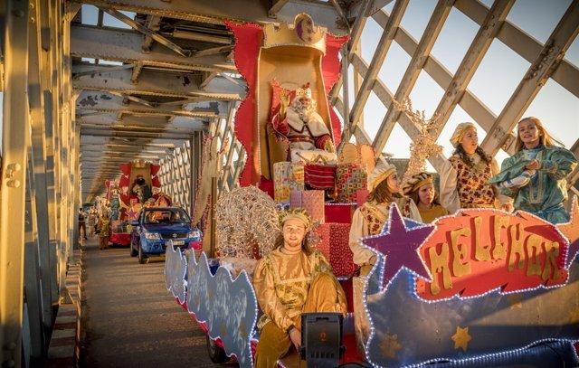 Cabalgata de los Reyes Magos de Tui y Valença do Minho