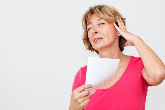 Menopausia, sofocos