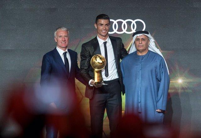 Cristiano Ronaldo, entre los mejores del 2018 para los Globe Soccer Awards