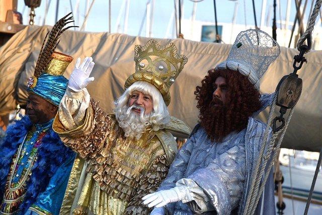 Cabalgata de Reyes Magos en Barcelona