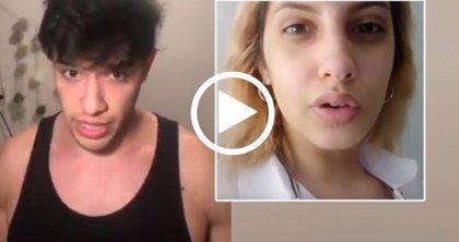 El influencer argentino Julián Serrano es acusado de agredir a la cantante Dakillah Warapp en una fiesta